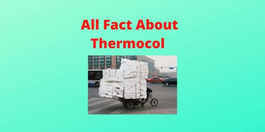 Why Thermocol is used as a base for many electric circuit?