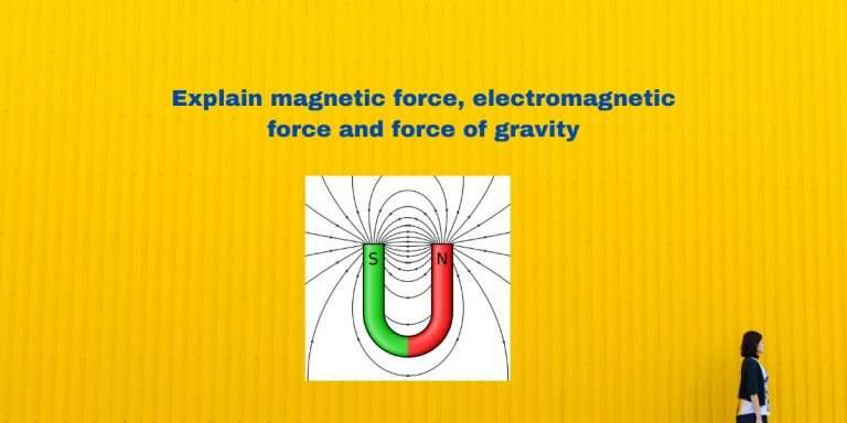 Explain Magnetic force Electromagnetic force