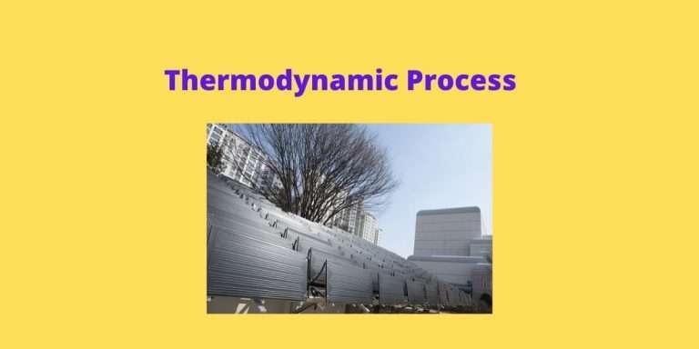 Thermodynamic Process