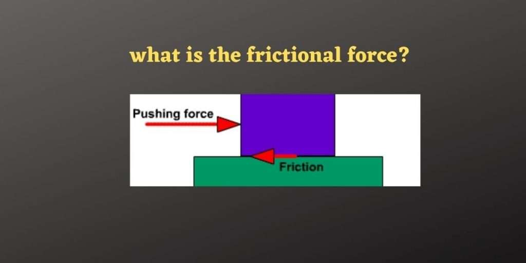 What is Frictional Force