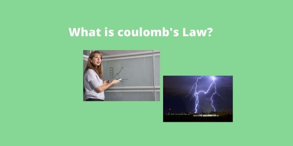 what is coulomb's law