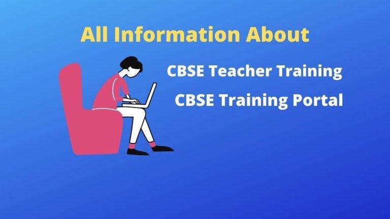 CBSE Training Portal