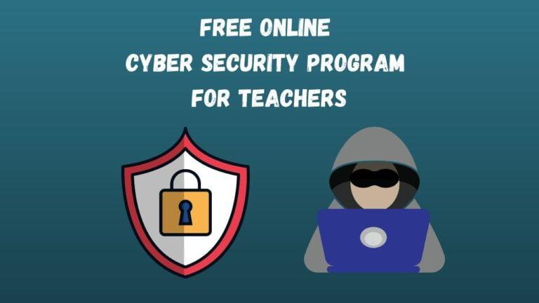 Online Cyber Security Program