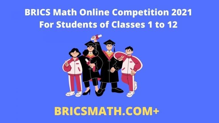 BRICS Math Online Competition 2021