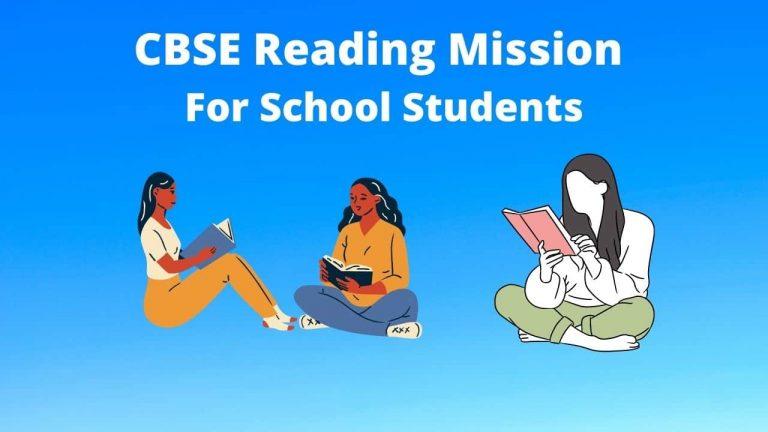 CBSE Reading Mission