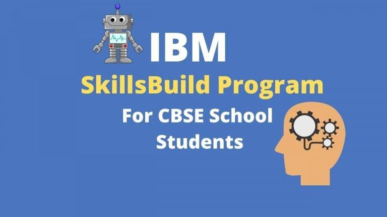 IBM SkillsBuild Program
