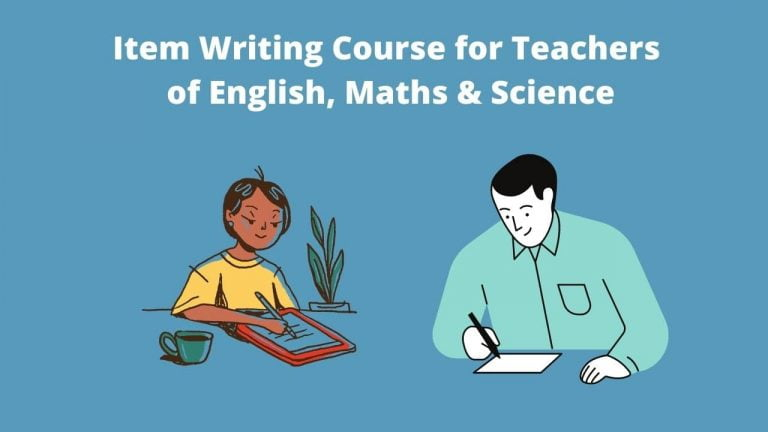 Item Writing Course for Teachers